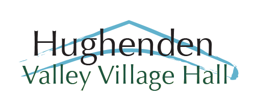 Hughenden valley village hall logo
