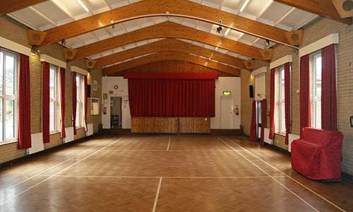 Book our large hall for your event